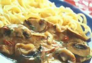 escalopes dinde champignons cookeo