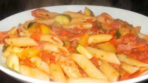 pate aux tomates et jambon au cookeo