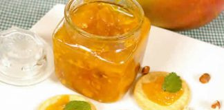confiture mangues peches thermomix