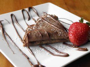 crepes chocolat