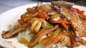 echine porc legumes cookeo