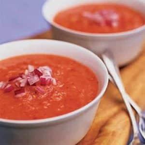gaspacho tomates concombre poivron thermomix