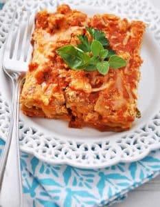 lasagnes aux carottes chevre