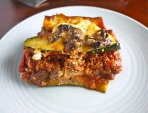 lasagnes courgettes bolognaise