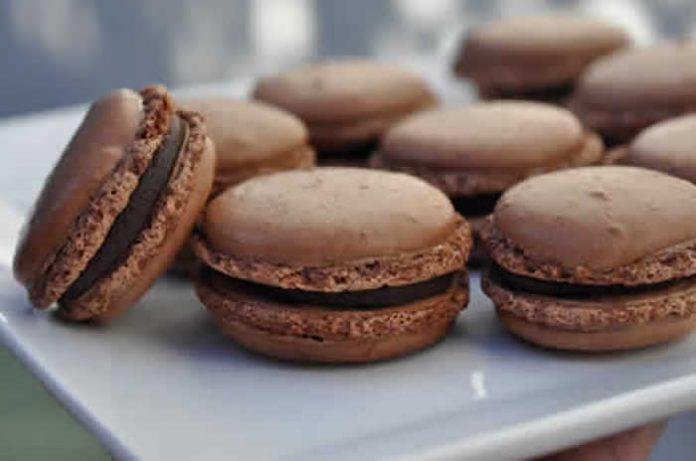 macarons chocolat facile