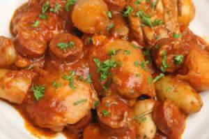 poulet chorizo maison