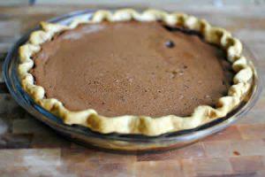 tarte chocolat express