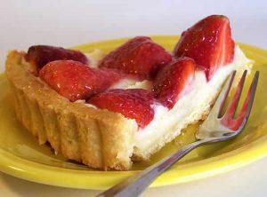 tarte aux fraises creme patissiere