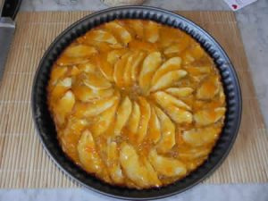 tarte aux pommes express