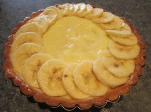 tarte banane rapide