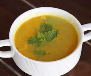 veloute lentilles carottes thermomix