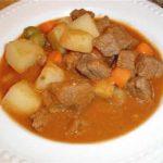 Blanquette de veau aux pommes de terre et carottes au Cookeo