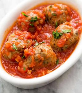 boulettes de boeuf sauce tomate cookeo