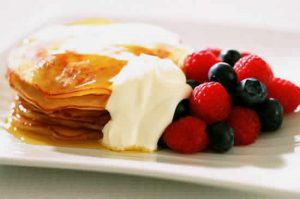 crepes caramel thermomix