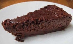 gateau chocolat sans farine