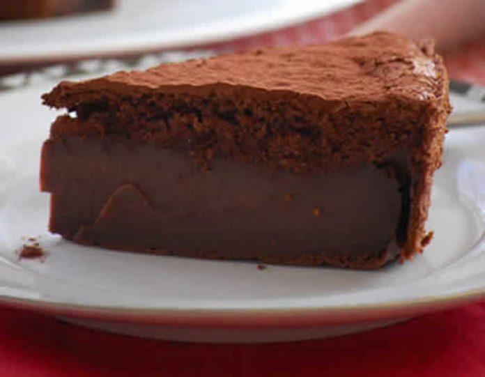 gateau magique mousse chocolat
