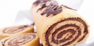 gateau roule nutella facile