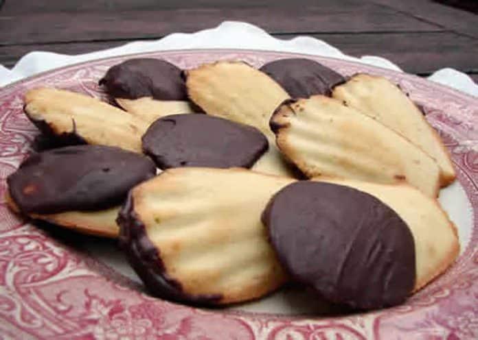 madeleines coque de chocolat
