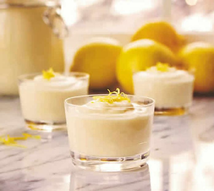 mousse citron thermomix
