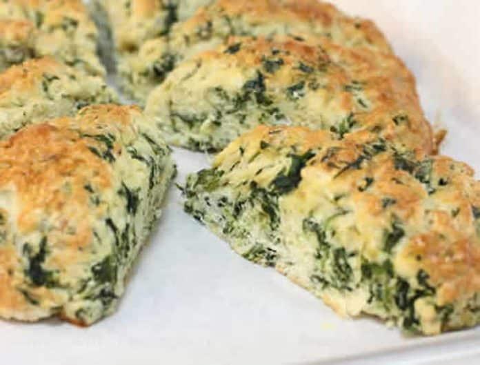 pain aux epinards et fromage
