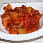 Ragout de veau aux pommes de terre au Cookeo