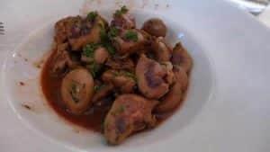 Rognons de veau aux champignons au thermomix