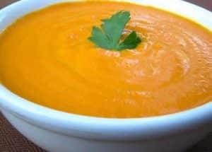soupe aux carottes curry