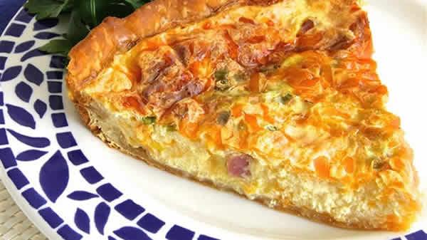 tarte fromage chevre jambon thermomix