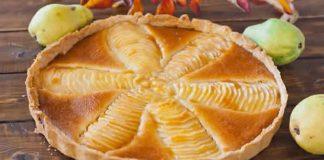 tarte aux poires poudre amandes