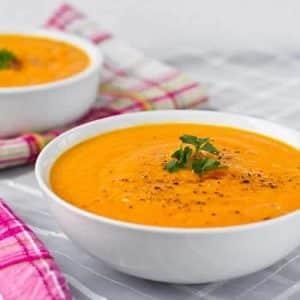 soupe de carottes thermomix