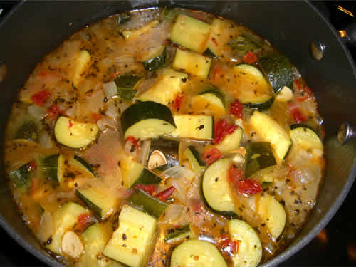 eminces poulet courgettes cookeo