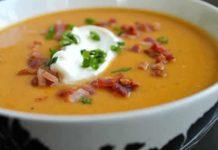 soupe pancetta chorizo companion