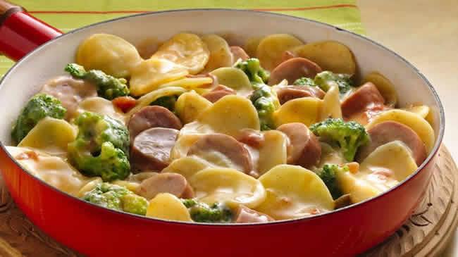 andouillettes aux pommes de terre cookeo