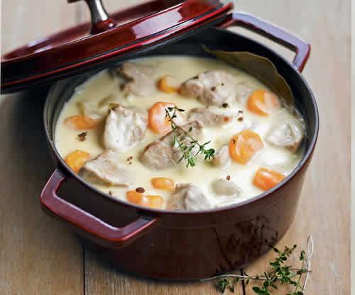 blanquette de veau aux carottes cookeo