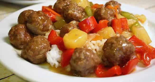 boulettes de viande aux pommes de terre poivron cookeo