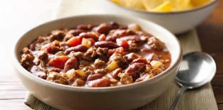 chili con carne facile cookeo