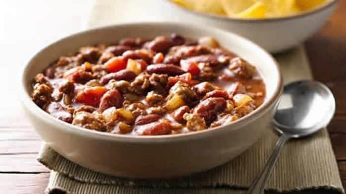 chili con carne facile cookeo