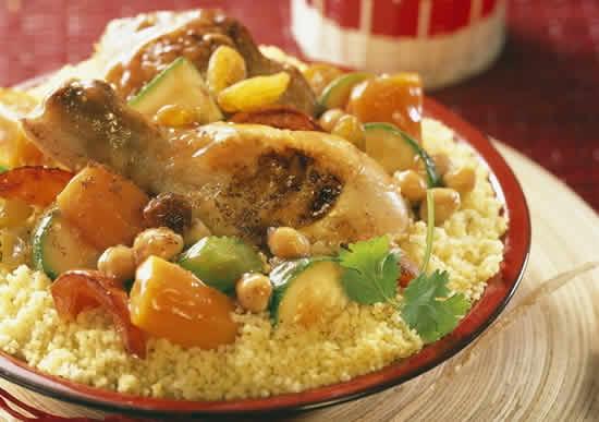 couscous poulet legumes cookeo
