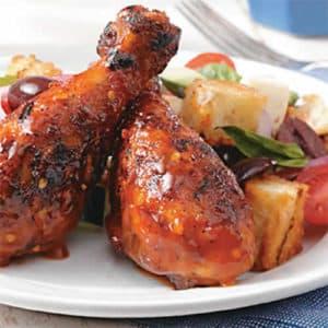 cuisse de poulet sauce barbecue cookeo