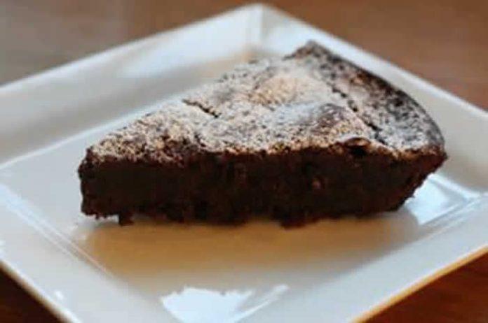gateau chocolat fondant sans beurre