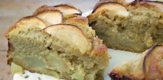 gateau aux pommes poires