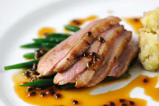 magret de canard sauce cookeo