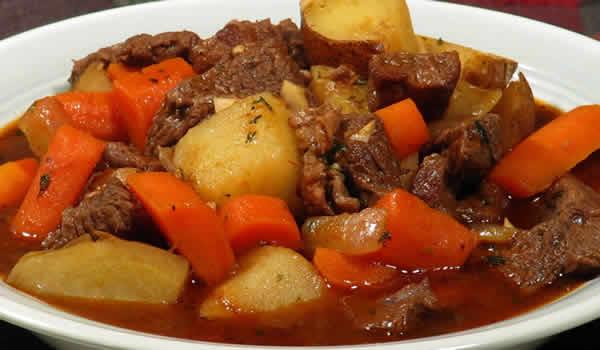 ragout de porc aux legumes cookeo