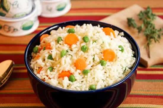 riz aux carottes petits pois cookeo
