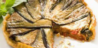 tarte aubergine thon