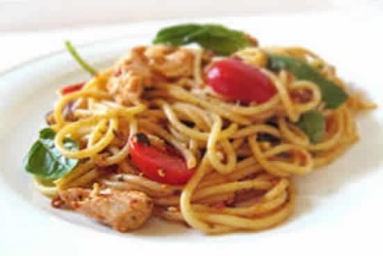 dinde spaghetti cookeo
