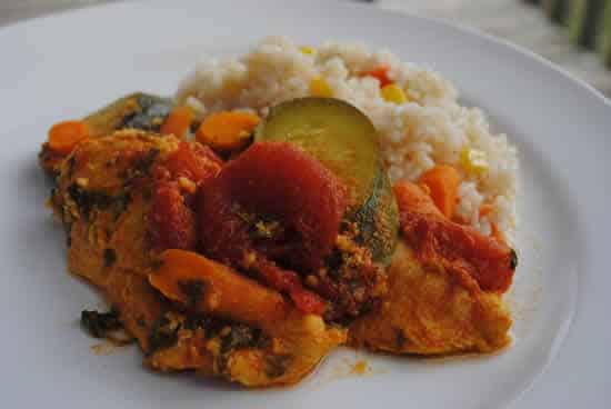 poulet aux carottes courgettes cookeo