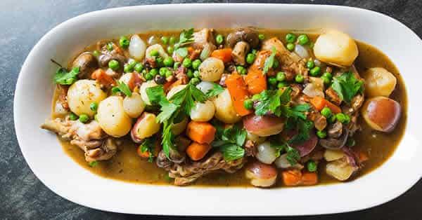 poulet aux legumes cookeo