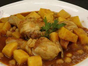cuisses de poulet aux pommes de terre olives cookeo