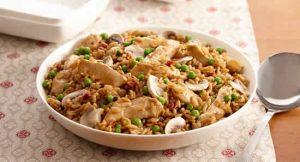 poulet riz champignons cookeo